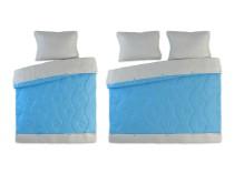 Set pamučna posteljina sa prekrivačem Trend
