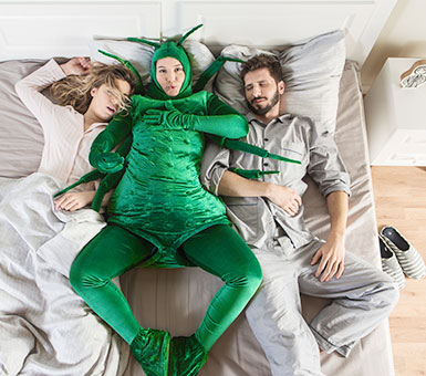 Da li znate sa kim delite krevet?