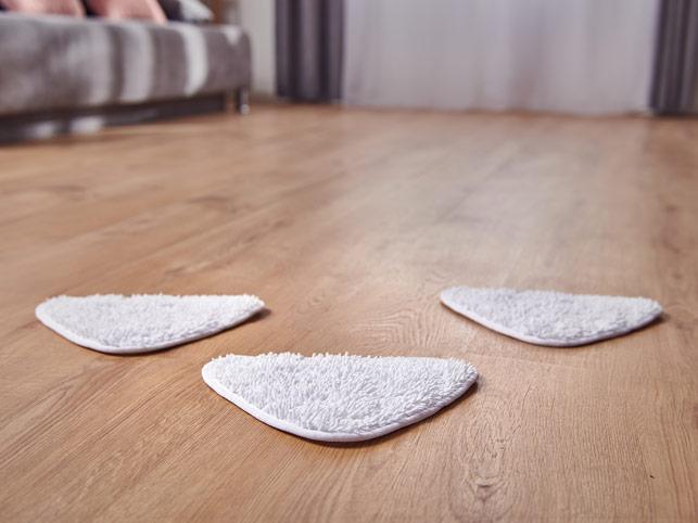 Rovus Nano Floor Steamer Plus Triangle Cloths
