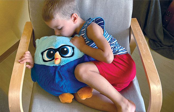 Dormeo Emotion Owl Family
