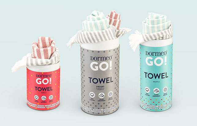 Dormeo GO! towel