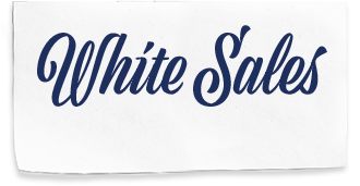 White Sales Logo